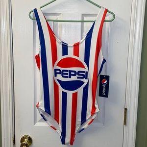 Pepsi swimsuit size large